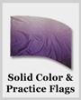 Single Color & Practice Flags