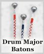 Signal Batons & Maces for Drum Majors
