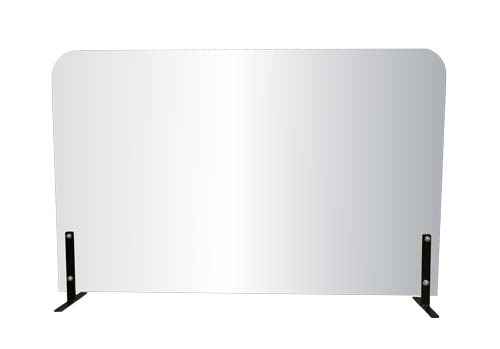 Portable Acrylic Desk Barrier