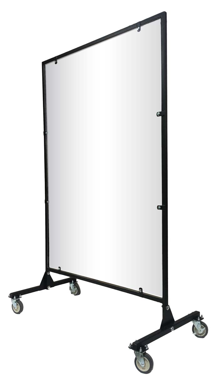Moveable Acrylic Barrier