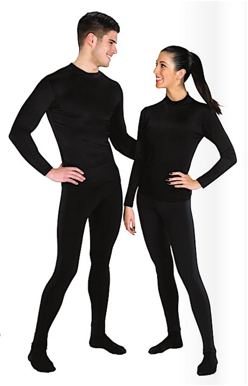 StylePlus CorElements Unisex Stay-Warm Compression Fit Pants