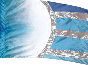 Cosmatic Hybrid Flag-Blue