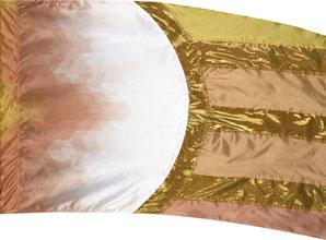 Cosmatic Hybrid Flag-Gold