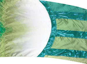 Cosmatic Hybrid Flag-Teal