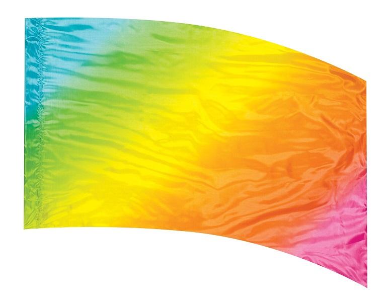 Multi Shaded Color Guard Flag #03