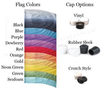 StylePlus Shaded Metallic Practice Flag Package