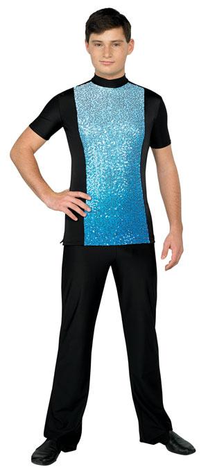Styleplus Ombre Plex Male Top (Short Sleeve)