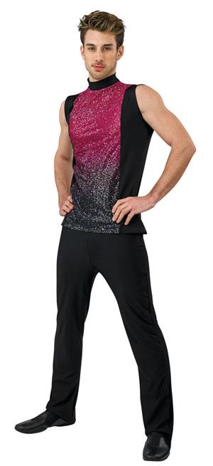 Styleplus Color to Black Plex Male Top