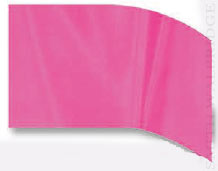 Style Plus Breast Cancer Awareness F-1 Solid Pink Flag