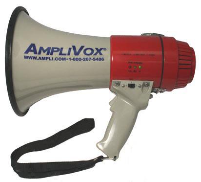 Amplivox S601 Mity-Meg 15-Watt Megaphone