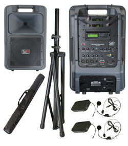 Sound Projections SM-5 Dual Bodypack Wireless Package with Bluetooth