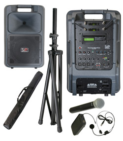 Sound Projections SM-5 Dual Handheld & Bodypack Wireless Package with Bluetooth