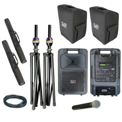 Sound Projections SM-5 Handheld Wireless Deluxe Package with Bluetooth