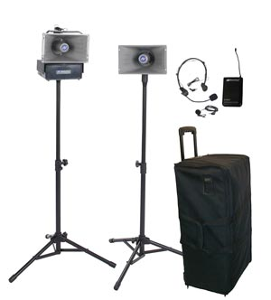 Amplivox SW630 Wireless Half Mile Hailer Kit