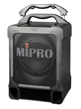 Mipro MA-707 Portable Wireless PA System-Single Channel w/CD-USB Player
