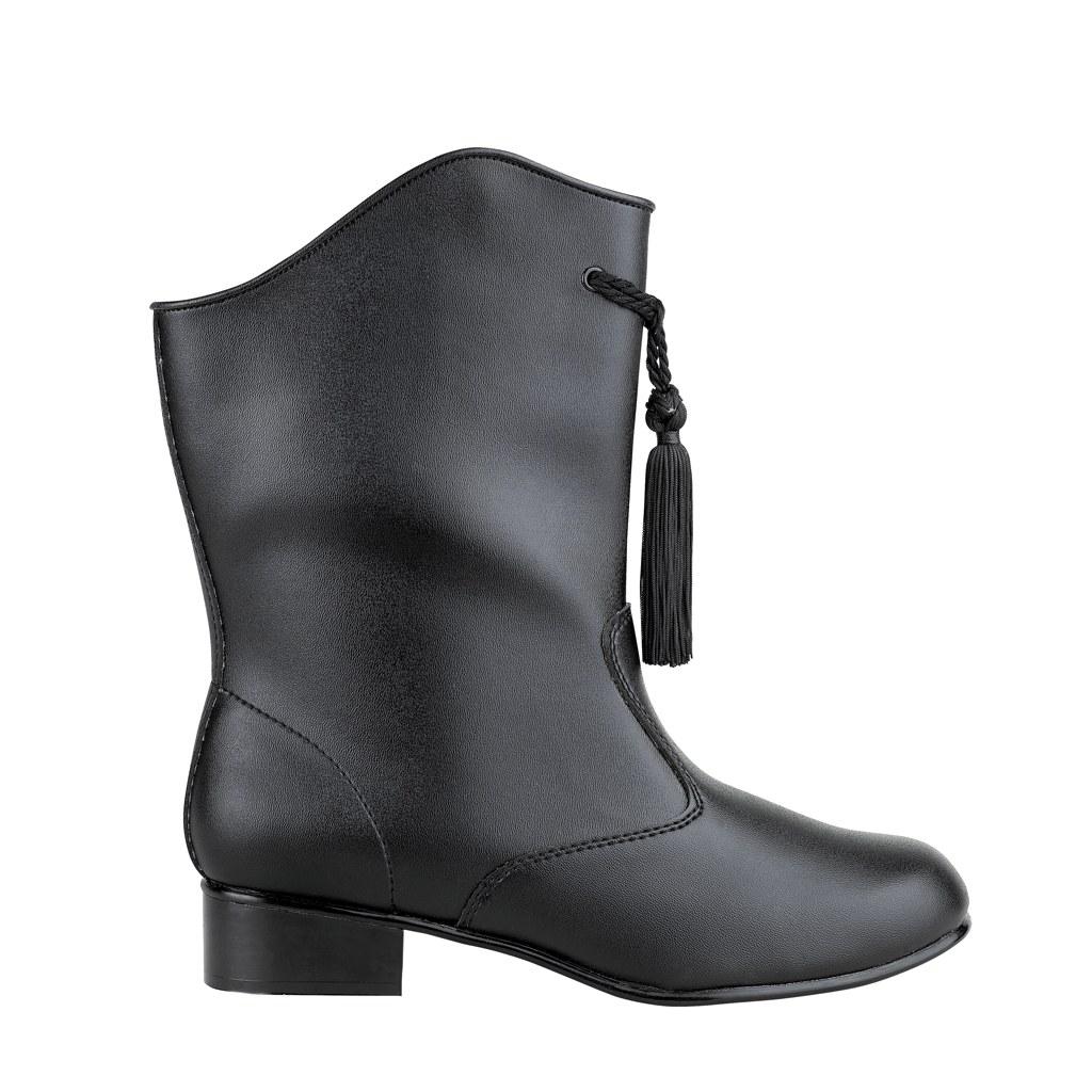 StylePlus Traditional-Majorette Boots (vinyl) BLACK -