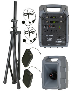 Sound Projections Voice Machine VM-2 Dual 60 Channel Digital Headset Wireless System