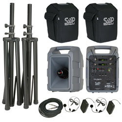 Sound Projections Voice Machine VM-2 Dual Bodypack Wireless Deluxe Package