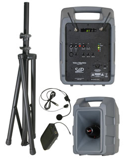 Sound Projections Voice Machine VM-2 Bodypack Wireless Package