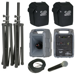 Sound Projections Voice Machine VM-2 Handheld Wireless Deluxe Package