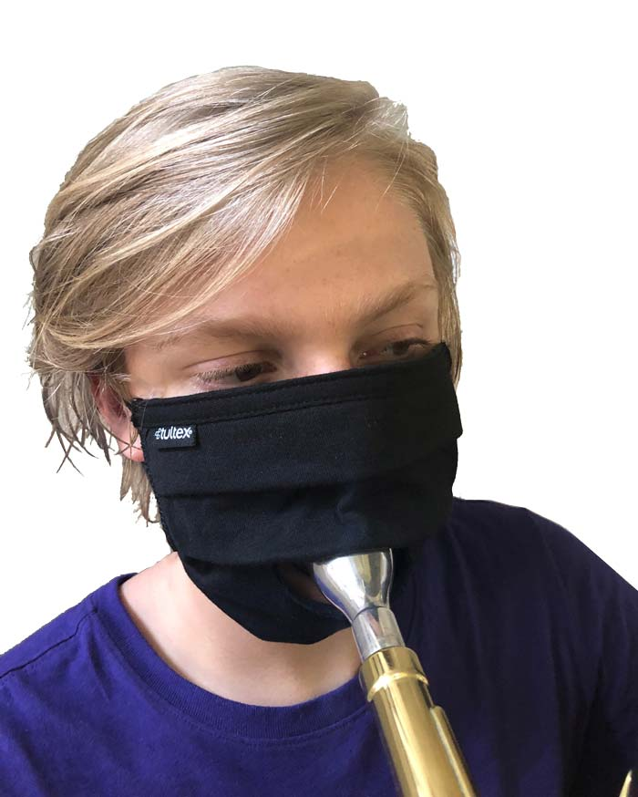 BULK ORDER- Double Layer Instrumental Performance Face Mask with optional perfomance slit