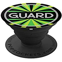 Color Guard Popsocket - Design PS1 Green