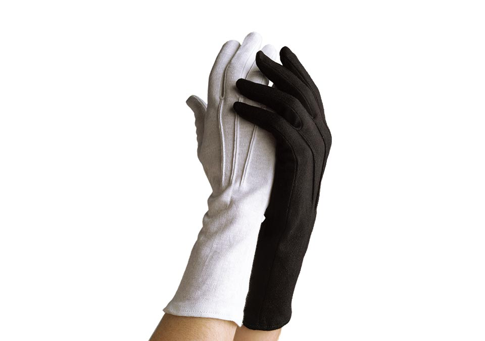 Dinkles Long-Wristed Cotton Gloves