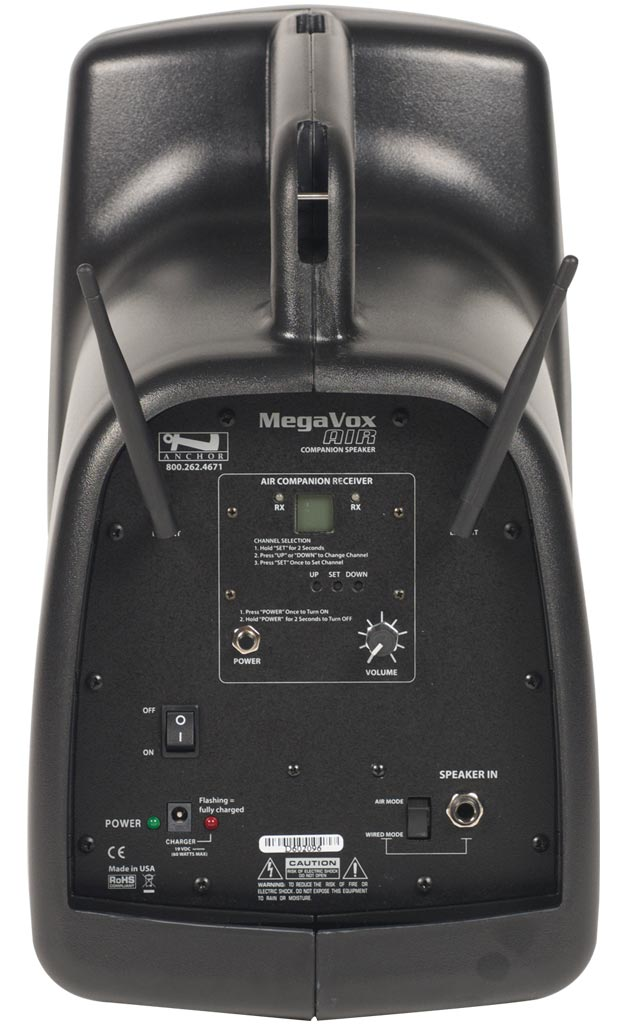 Anchor Audio Megavox AIR Wireless Companion Speaker