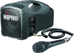 Mipro MS-101c Personal PA System with wired handheld microphone