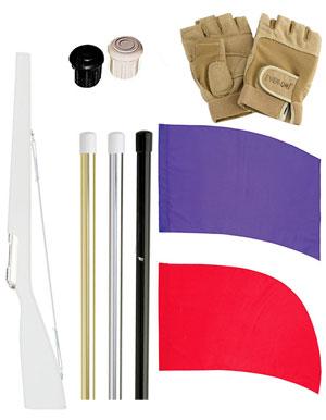 DSI Color Guard Flag and Rifle Bundle