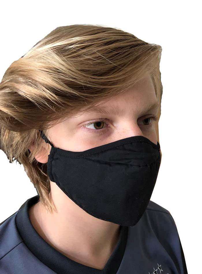 Adjustable Face Mask- Poly Cotton Blend