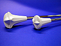 Star Line Fluted Super Star Twirling Baton - 3/8 or 7/16 inch shaft