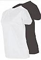 StylePlus CorElements Womens V-Neck Short Sleeve Shirt