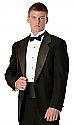 Concert Wear Tuxedo Jacket- Black