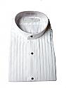 Concert Wear Men's Tuxedo Shirt- Banded collar