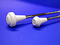 Star Line Lite Star Twirling Baton - 7/16 inch Shaft