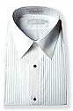 Concert Wear Women's Tuxedo Shirt- Lay-down collar