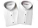 Concert Wear Men's Tuxedo Shirt- Wing Tip Collar