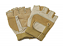 Fingerless Leather Guard Gloves-Clearance