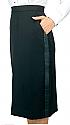 """""""Below the knee"""" Concert Tuxedo Skirt"""