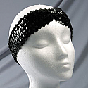 """2"""" Sequin Headband with Front Pleat"""